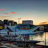 March Sunrise at the Opera of Oslo (HDR)