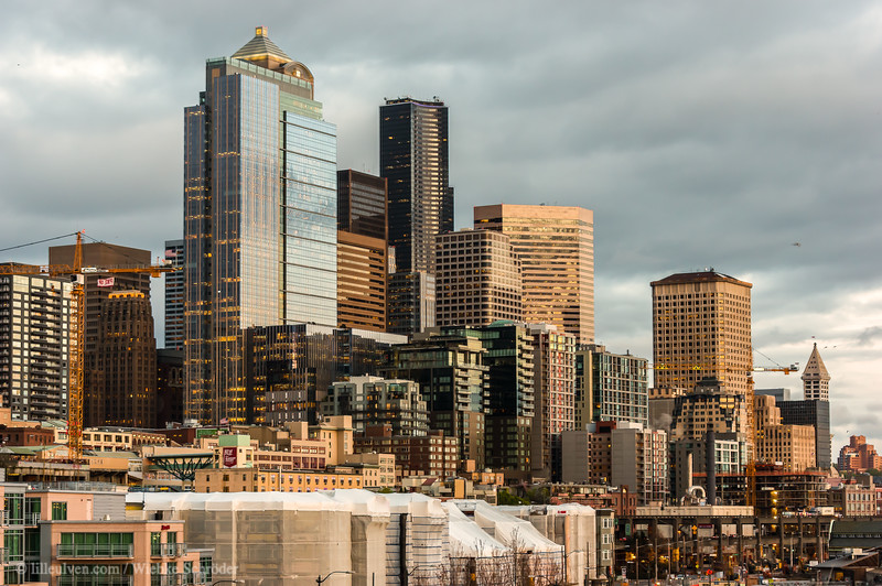 Evening in Belltown, Seattle (HDR)