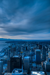 Seattle from the Sky Observatory (HDR)