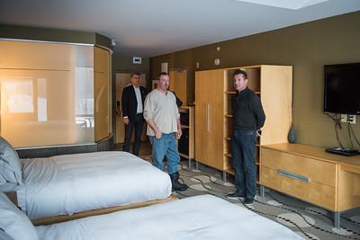 Guestroom at resort