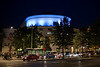Swedish Theater by night, Helsinki, Finland