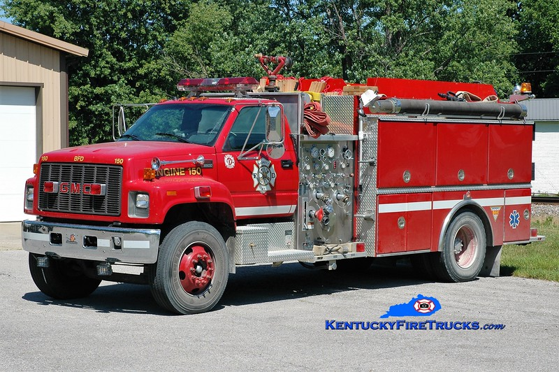 Baskett Engine 150<br /> 2000 GMC 8500/Ferrara 1250/1000<br /> Greg Stapleton photo