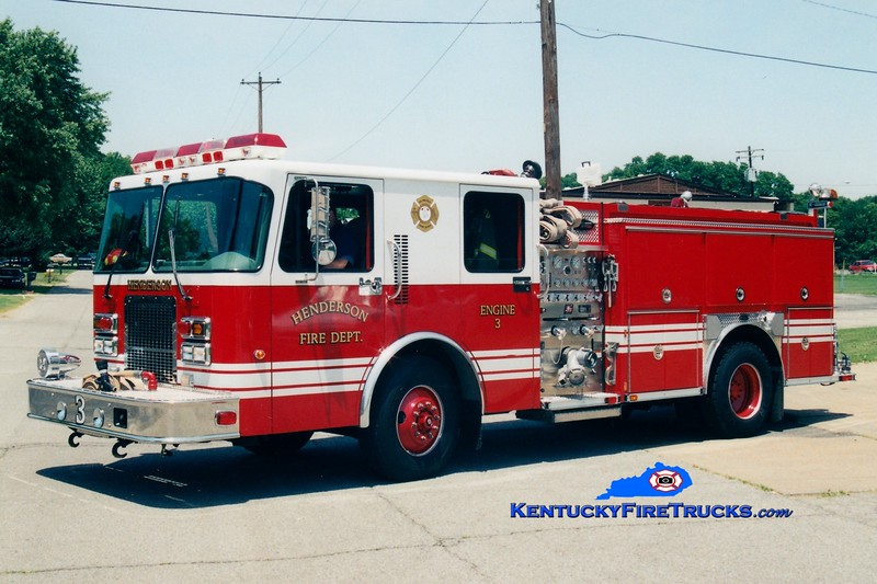 <center> REASSIGNED <br> Henderson  Engine 3  <br> 1999 Spartan Advantage/E-One 1250/500 <br> Greg Stapleton photo </center>