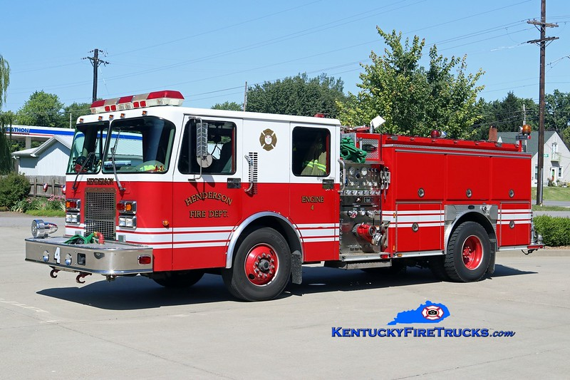 Henderson  Engine 4<br /> x-Engine 3 <br /> 1999 Spartan Advantage/E-One 1250/500<br /> Kent Parrish photo
