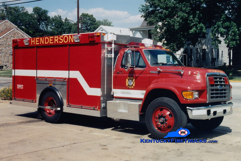<center> RETIRED <br> Henderson  Rescue 2  <br> 1996 Ford F/Summit  <br> Greg Stapleton photo </center>