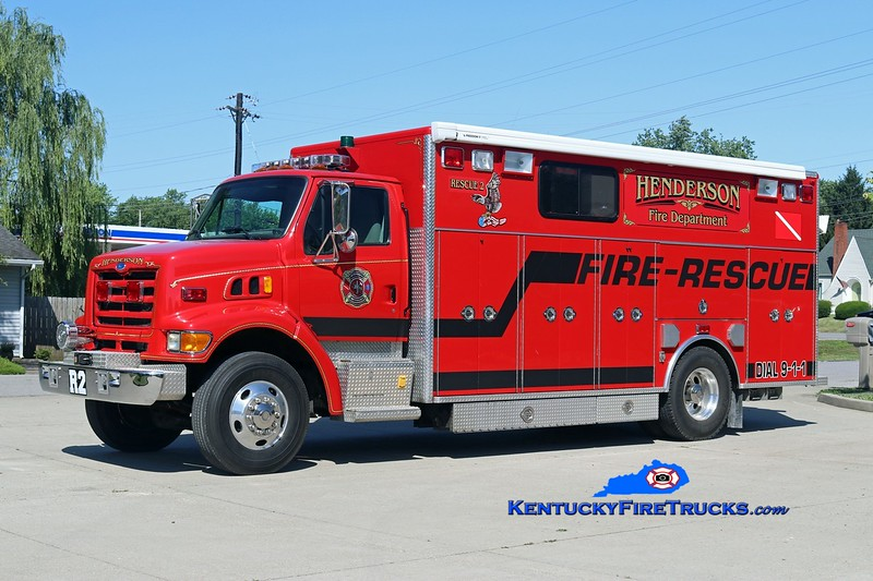 Henderson  Rescue 2<br /> x-East Freehold, NJ<br /> 1997 Ford L/PL Custom<br /> Kent Parrish photo