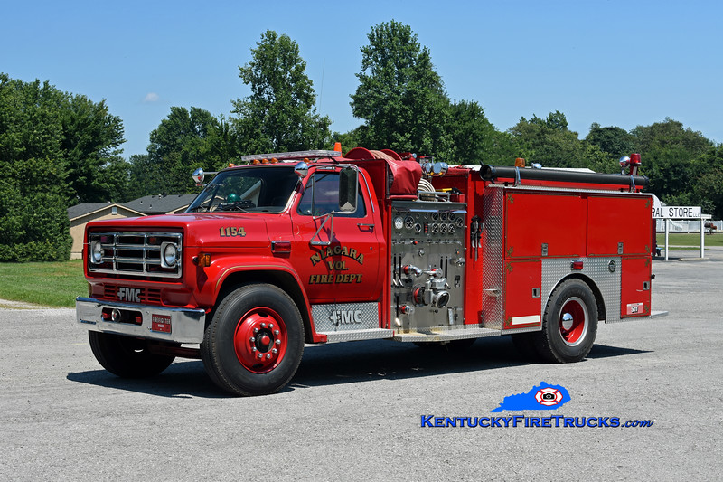 Niagara  Engine 1154<br /> 1986 GMC 7000/FMC 1000/1250<br /> Kent Parrish photo