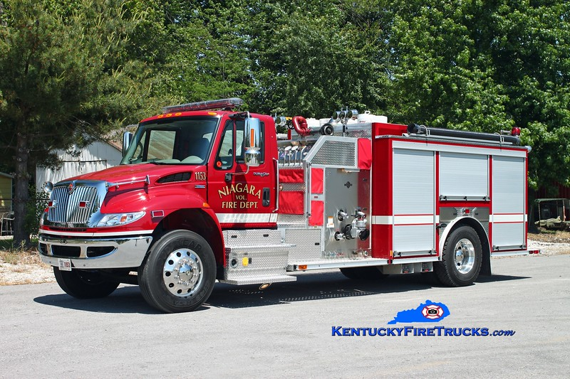 <center> Niagara  Engine 1153  <br> 2008 International 4400/E-One 1250/1000 <br> Kent Parrish photo </center>