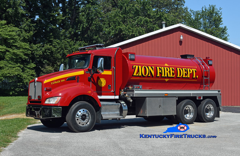 Zion  Tanker 360<br /> 2011 Kenworth T-440/Osco 1100/3000<br /> Kent Parrish photo