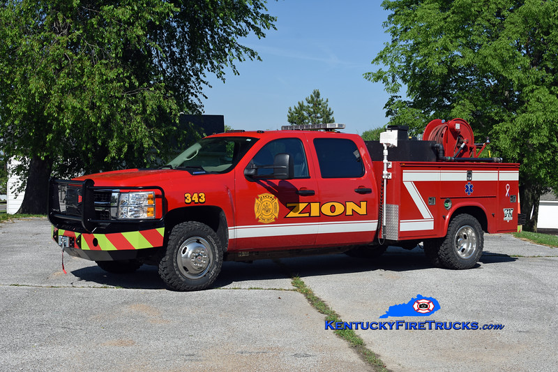 Zion  Squad 343<br /> 2009 Chevy 3500 4x4/Knapheide/UPF 250/250<br /> Kent Parrish photo