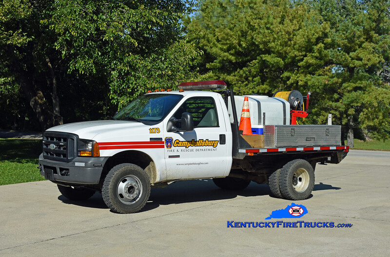 Campbellsburg Brush 1173<br /> 2005 Ford F-350 4x4/FD 250/200<br /> Kent Parrish photo