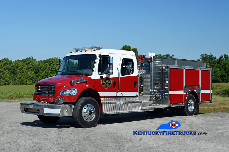 Eminence  Engine 2231<br /> 2019 Freightliner M2-106/Toyne 1250/1000<br /> Kent Parrish photo