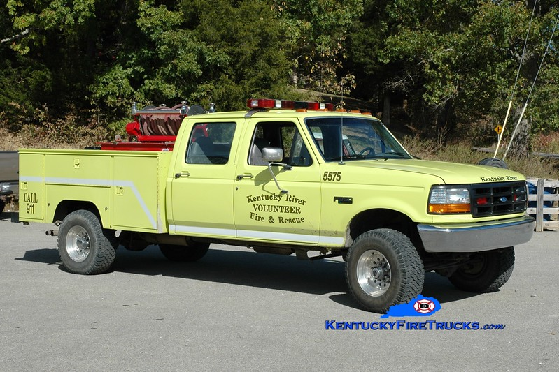 <center> Kentucky River  Brush 5575 <br> 1996 Ford F-350 4x4/Knapheide/Mertz 250/250 <br> Greg Stapleton photo </center>