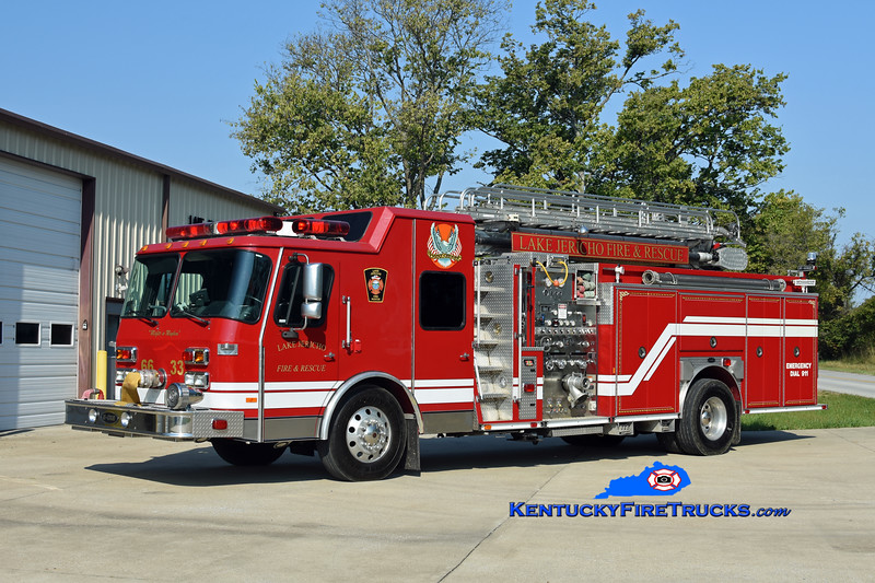 Lake Jericho  Engine 6633<br /> x-Ewing Twp, NJ & Pleasureville, KY <br /> 1997 E-One Hush 1500/500/50 50 Tele-Boom<br /> Kent Parrish photo