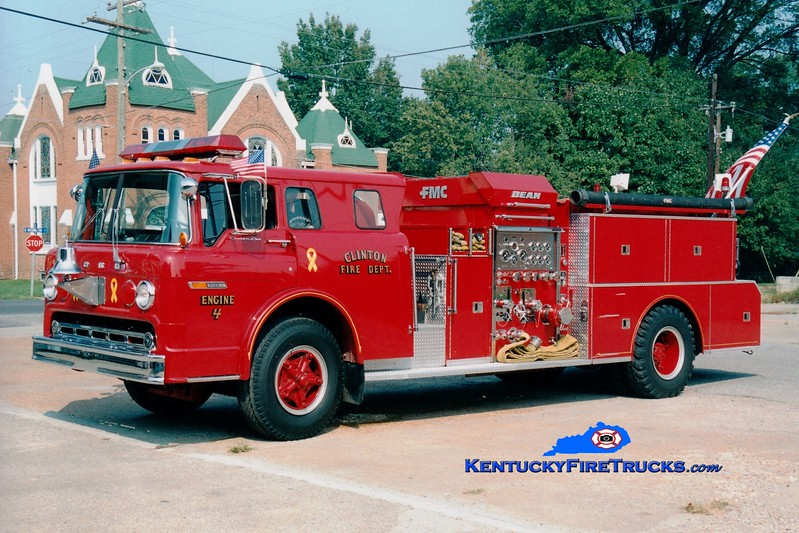 <center> Clinton  Engine 4  <br> 1981 Ford C/FMC 1000/750 <br> Greg Stapleton photo </center>