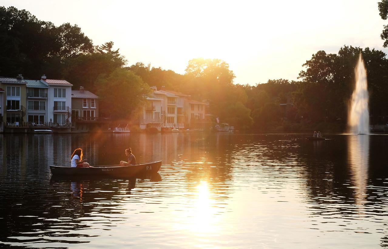Summertime on Lake Anne
