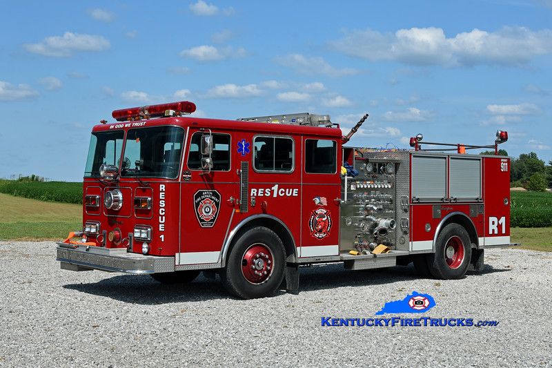Anton Rescue 301 <br /> x-Berwyn, IL<br /> 1992 Seagrave Commander 1250/500<br /> Kent Parrish photo