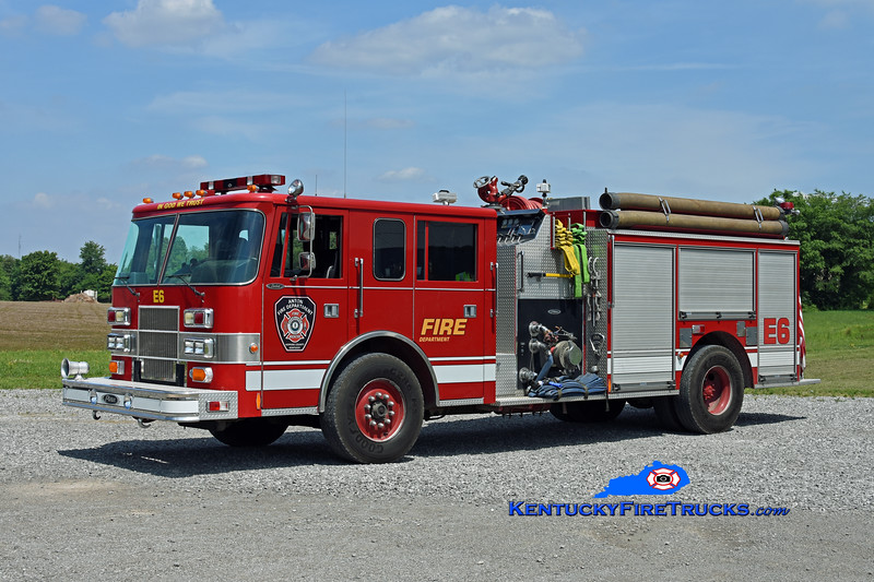 Anton  Engine 306<br /> x-Vincennes Twp, IN<br /> 1994 Pierce Saber 1250/1000<br /> Kent Parrish photo