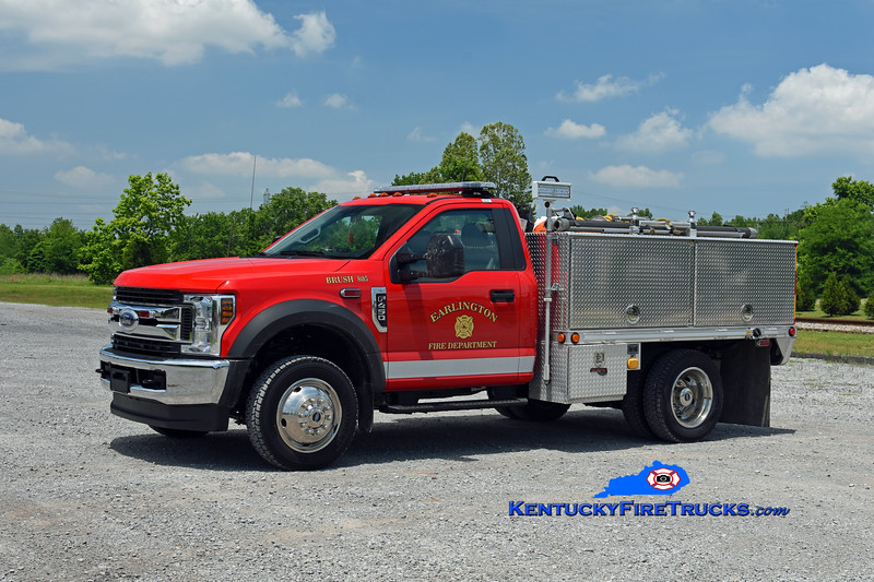 Earlington  Brush 805<br /> 2018 Ford F-450 4x4/Gerry's 250/250/10<br /> Kent Parrish photo