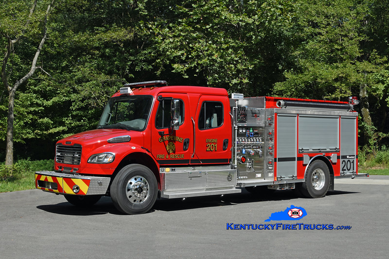 Grapevine  Engine 201<br /> 2018 Freightliner M2-106/Rosenbauer 1250/1000/30<br /> Kent Parrish photo