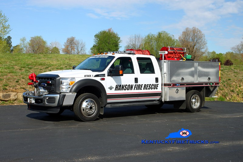 Hanson  Attack 1<br /> 2014 Ford F-550 4x4/Gerry's Automotive 275/400/10<br /> Kent Parrish photo