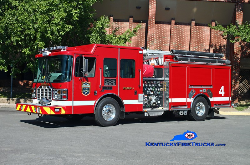 <center> Madisonville  Engine 4  <br> 2013 HME/Ferrara Ember 1750/750/30 <br> Kent Parrish photo </center>