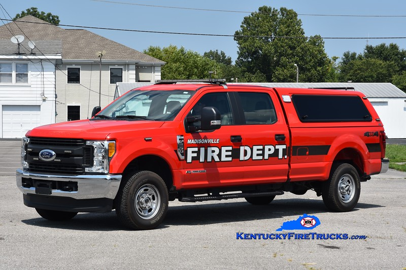 Madisonville Command 8 <br /> 2020 Ford F-350 4x4 <br /> Greg Stapleton photo