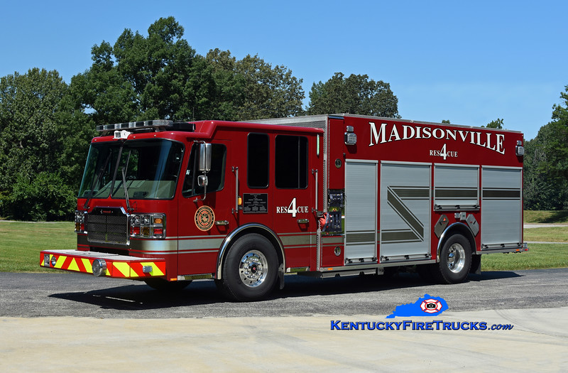 Madisonville Rescue 4 <br /> 2019 Ferrara Cinder MVP 2000/1000/20<br /> Kent Parrish photo