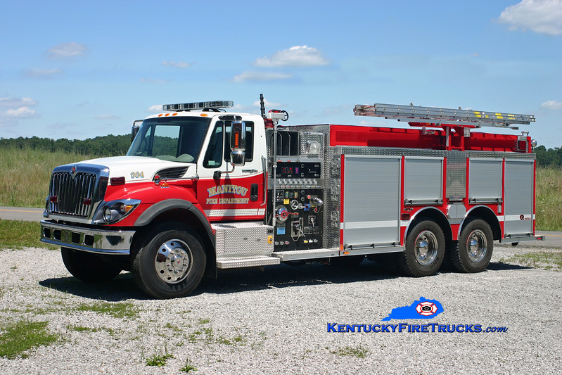 <center> Manitou  Tanker 904 <br> 2007 International 7400/Rosenbauer-Central 1250/2500/30 <br> Kent Parrish photo </center>