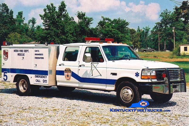 <center> Nebo  Engine 1305 <br> 1993 Ford F-350/Knapheide  <br> Greg Stapleton photo </center>