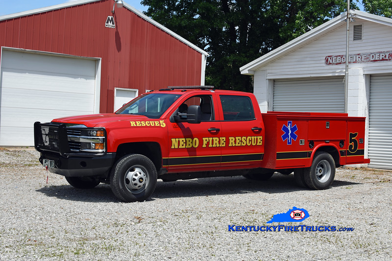 Nebo  Rescue 5<br /> 2014 Chevy 3500 4x4/Knapheide/Superior Truck Equip<br /> Kent Parrish photo