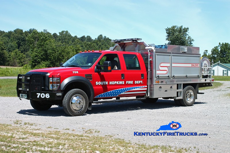 <center> RETIRED <br> South Hopkins  Attack 706 <br> 2008 Ford F-550 4x4/Bluegrass 250/300/10 <br> Kent Parrish photo </center>