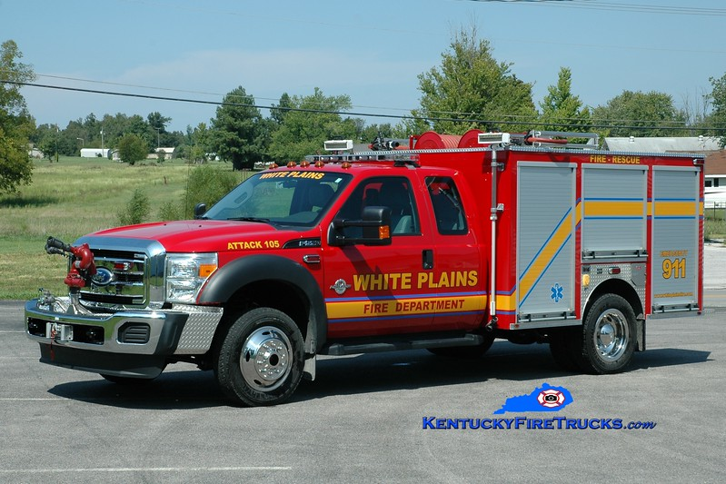 <center> White Plains  Attack 105 <br> 2012 Ford F-550 4x4/Gerry's Automotive 250/250 <br> Greg Stapleton photo </center>