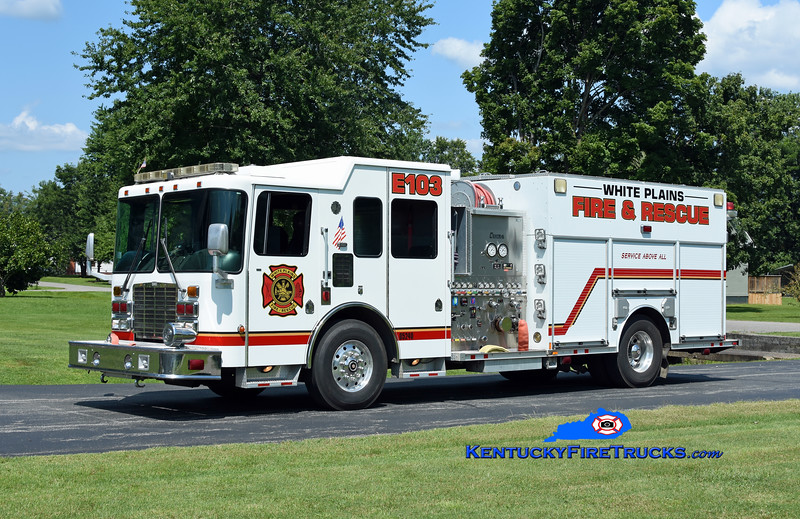 White Plains Engine 103 <br /> 2006 HME 1871/Rosenbauer-Central States 1500/500/30/20<br /> Kent Parrish photo