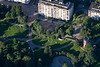 Sinebrychoff park from the air, Helsinki, Finland