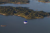 Seurasaari from the air, Helsinki, Finland