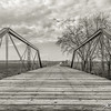 A fading county bridge over the South Raccoon River