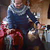 Inka ja Tsahpi_ Inka med hunden Tsahpi_ Inka and the dog Tsahpi