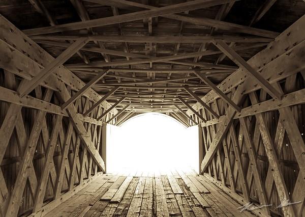The Hogback Bridge north of Winterset