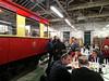 Steam Railway engine shed dinner