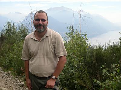 On the trail to Refugio Menaggio