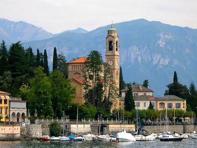 The town of Tremezzo
