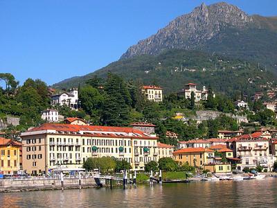 Menaggio with Monte Bregno in the background