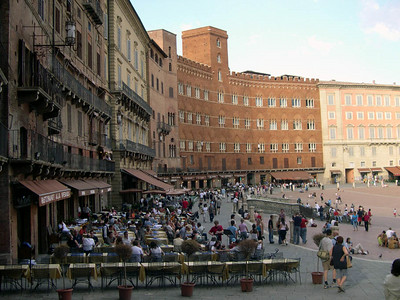 Piazza del Campo in Siena.