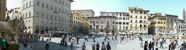 Piazza della Signoria in Florence.