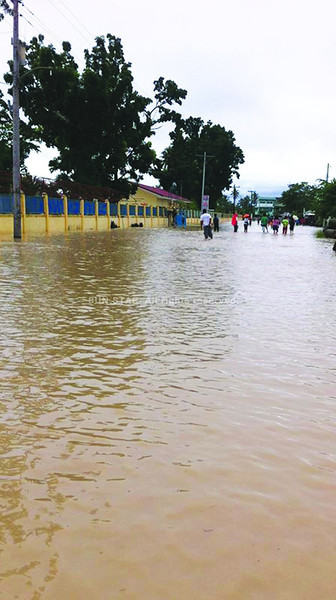Flooding in Compostela Valley, Mindanao, Philippines
