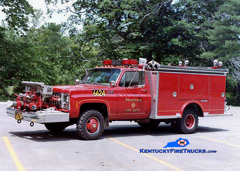 RETIRED <br /> KY Anchorage Engine 6624 <br /> 1981 Chevy K30 4x4/Saulsbury 750/300<br /> Kent Parrish collection