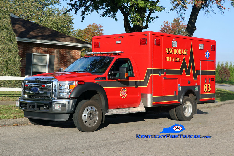 Anchorage  Medic 2083<br /> 2017 Ford F-450/2007 Horton<br /> Kent Parrish photo