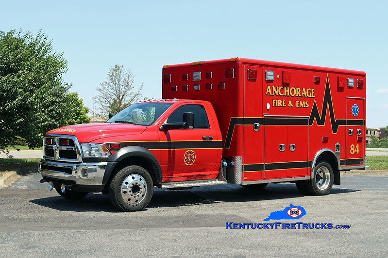 NOW WITH ANCHORAGE MIDDLETOWN<br /> Anchorage  Medic 2084<br /> 2016 Dodge 5500/Horton<br /> Kent Parrish photo