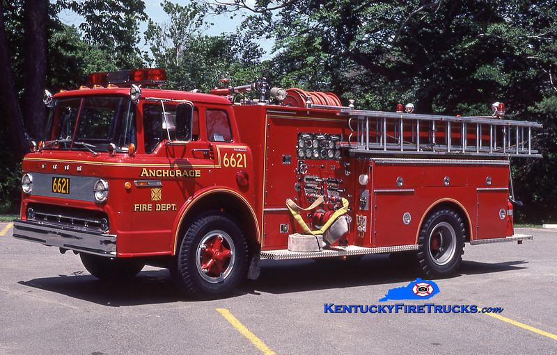 RETIRED <br /> Anchorage Engine 6621 <br /> 1972 Ford C-850/Boyer 1000/650<br /> Kent Parrish collection